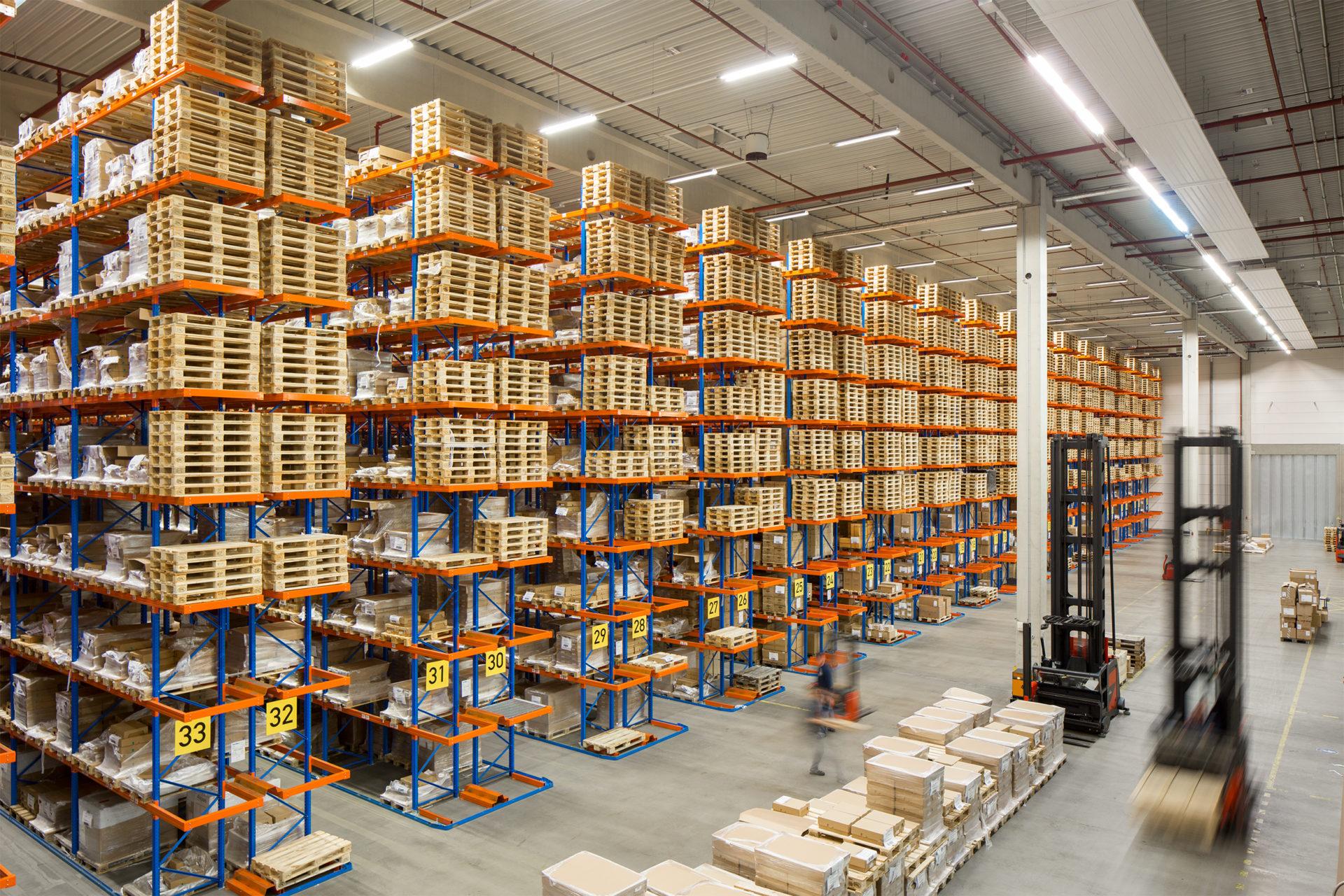 Druck und Logistik eng verzahnt